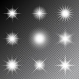 Stars and sparkles vector Royalty Free Stock Images