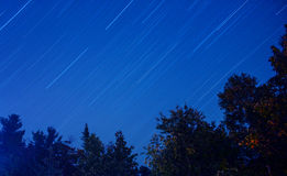 Startrail Royalty Free Stock Photos