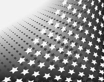 Stars in stripes Royalty Free Stock Image
