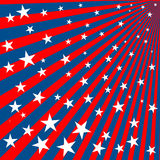 Stars and stripes. Background with stars and stripes for 4th of july Royalty Free Stock Images