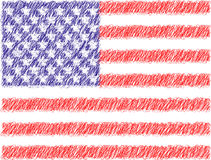 Stars & stripes. Vector illustration of Us flag vector illustration