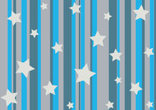 Stars and stripes stock illustration