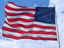 Stars and Stripes. The US flag Stock Photo