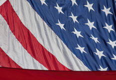 And the Stars and Stripes Stock Photography