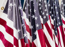 Stars and Stripes, American Flags USA Stock Images
