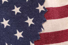Stars and stripes background. Close up of Stars and stripes background Stock Image