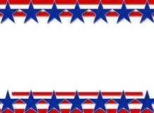 Stars and Stripes Background Stock Photography