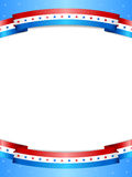 Stars and Stripes Background Royalty Free Stock Image