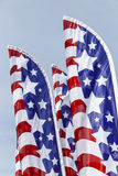 Stars and Stripes banners Royalty Free Stock Image