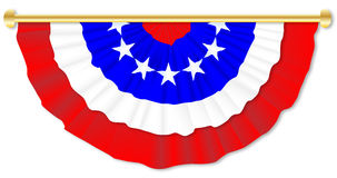 Stars and Stripes Bunting Stock Images