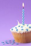 Stars & Stripes Cupcake Stock Photography