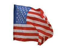 Stars and stripes of flag Stock Photography