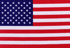 Stars and Stripes flag background Royalty Free Stock Photos