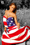 Stars and stripes forever. Royalty Free Stock Photography
