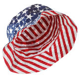 Stars & stripes hat Royalty Free Stock Photography