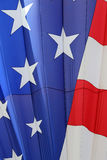 Stars and Stripes Hot Air Balloon Stock Image
