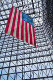 Stars and Stripes - JFK Museum Stock Photo