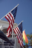 Stars and stripes in Key West Stock Photos