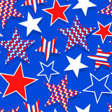 Stars and stripes. Royalty Free Stock Images