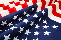 Stars and stripes United States of America bunting Royalty Free Stock Image