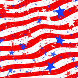 Stars and stripes us flag Stock Photography