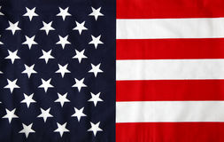 Stars and stripes. USA Royalty Free Stock Images