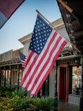 Stars and Stripes USA Flag, close-up Stock Image