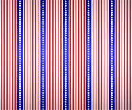 Stars And Stripes Wallpaper Royalty Free Stock Photo