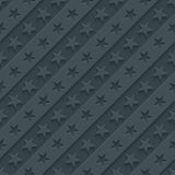 Stars and stripes wallpaper. 3d seamless background Royalty Free Stock Photo