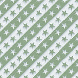 Stars and stripes wallpaper. 3d seamless background. Vector EPS10 Stock Photos