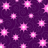 Stars and swirls Royalty Free Stock Image