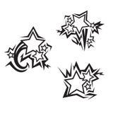 Stars tattoos Stock Photos