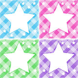 Stars template Royalty Free Stock Photography