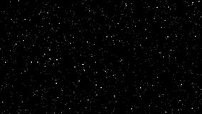 Stars in universe. Animated video clip of stars in universe zooming outwards stock video footage
