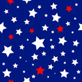 Stars USA Flag Pattern Stock Images