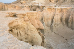 Stars Valley canyon on Qeshm island, Hormozgan Royalty Free Stock Photography