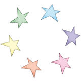 Stars (vector) Stock Images