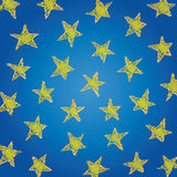 Stars (vector) Royalty Free Stock Photo