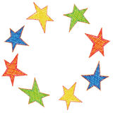 Stars (vector) Royalty Free Stock Photography