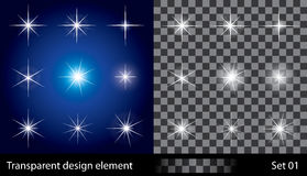 Stars. Vector illustration for design. Royalty Free Stock Photos