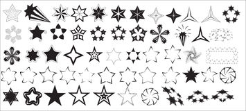 Stars Vectors Royalty Free Stock Image