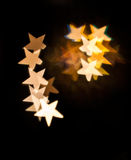 Stars with very nice shapes Royalty Free Stock Images