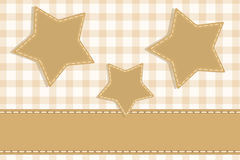 Stars vintage scrapbook Stock Photo