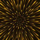 Through the stars at warp speed background Stock Images