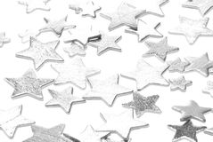 Stars on white Stock Image