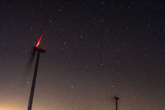 Stars and windmills in Spain Royalty Free Stock Photo