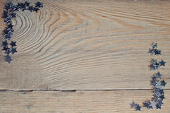 Stars on a wooden board Stock Photography