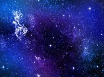 Starscape样式墙纸背景 库存照片