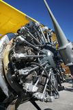 Starshaped plane engine Stock Photos