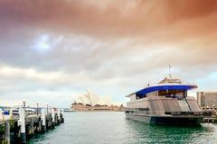 Starship悉尼巡航船 库存图片